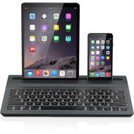 ZAGG Limitless Multi-Device Bluetooth Wireless Backlit Keyboard - Black