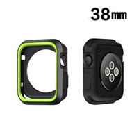 *Sale* Performance Sports Bumper Case for Apple Watch 38mm - Green Black