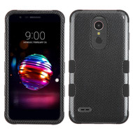 *Sale* Military Grade Certified TUFF Hybrid Armor Case for LG K30 - Carbon