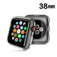 Thermoplastic Polyurethane Bumper Case for Apple Watch 38mm - Clear