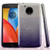 *Sale* Full Glitter Hybrid Protective Case for Motorola Moto E4 Plus - Gradient Ink Blue