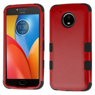*Sale* Military Grade Certified TUFF Image Hybrid Armor Case for Motorola Moto E4 Plus - Red