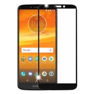 Premium Full Coverage Tempered Glass Screen Protector for Motorola Moto E5 Plus - Black