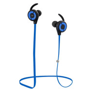 Bluetooth V4.1 Wireless In-Ear Sweatproof Fitness Headphones with Microphone - Blue