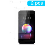 Premium Full Coverage 2.5D Round Edge Tempered Glass Screen Protector for LG Stylo 4 - Twin Pack