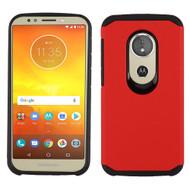 Hybrid Multi-Layer Armor Case for Motorola Moto E5 Play / E5 Cruise - Red