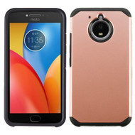 Hybrid Multi-Layer Armor Case for Motorola Moto E4 Plus - Rose Gold