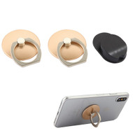 Smart Loop Universal Smartphone Holder & Stand with Hook Mount - Gold Twin Pack