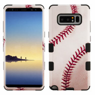 Military Grade Certified TUFF Image Hybrid Armor Case for Samsung Galaxy Note 8 - Baseball