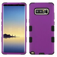 Military Grade Certified TUFF Hybrid Armor Case for Samsung Galaxy Note 8 - Purple