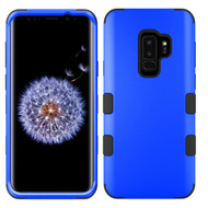 Military Grade Certified TUFF Hybrid Armor Case for Samsung Galaxy S9 Plus - Blue 005