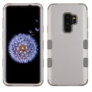 Military Grade Certified TUFF Hybrid Armor Case for Samsung Galaxy S9 Plus - Grey 096