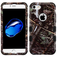 Military Grade Certified TUFF Image Hybrid Armor Case for iPhone 8 / 7 / 6S / 6 - Cedar Tree Camouflage