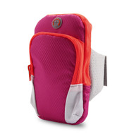 Universal Sports Neoprene Armband Pouch - Hot Pink