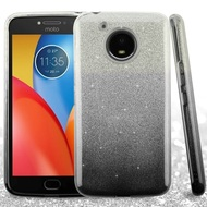 *Sale* Full Glitter Hybrid Protective Case for Motorola Moto E4 Plus - Gradient Black