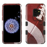 Military Grade Certified TUFF Image Hybrid Armor Case for Samsung Galaxy S9 - Football