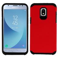 Hybrid Multi-Layer Armor Case for Samsung Galaxy J3 (2018) - Red