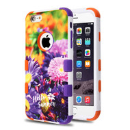 Military Grade Certified TUFF Image Hybrid Case for iPhone 6 Plus / 6S Plus - Chrysanthemum Field