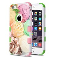 Military Grade Certified TUFF Image Hybrid Case for iPhone 6 Plus / 6S Plus - Ice Cream Scoops