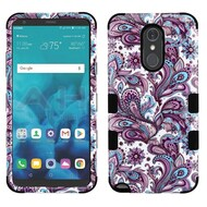 Military Grade Certified TUFF Hybrid Armor Case for LG Stylo 4 - Persian Paisley
