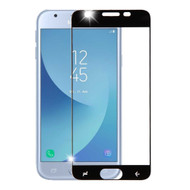 Premium Full Coverage 2.5D Tempered Glass Screen Protector for Samsung Galaxy J3 (2018) - Black