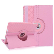 360 Degree Smart Rotating Hybrid Case for iPad (2018/2017) / iPad Air / iPad Air 2 - Checker Pink