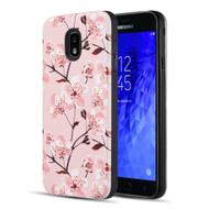 *Sale* Art Pop Series 3D Embossed Printing Hybrid Case for Samsung Galaxy J3 (2018) - Sakura