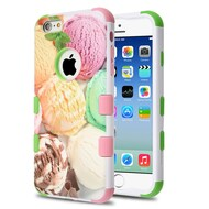 Military Grade Certified TUFF Image Hybrid Armor Case for iPhone 6 / 6S - Ice Cream Scoops