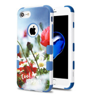 Military Grade Certified TUFF Image Hybrid Armor Case for iPhone 8 / 7 - Wildflower Field