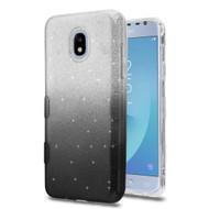 *Sale* Tuff Full Glitter Hybrid Protective Case for Samsung Galaxy J3 (2018) - Gradient Black