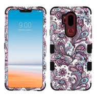 Military Grade Certified TUFF Image Hybrid Armor Case for LG G7 ThinQ - Persian Paisley