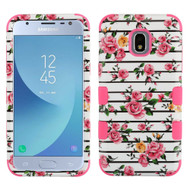 *Sale* Military Grade Certified TUFF Image Hybrid Armor Case for Samsung Galaxy J3 (2018) - Pink Fresh Rose