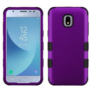 Military Grade Certified TUFF Hybrid Armor Case for Samsung Galaxy J3 (2018) - Purple