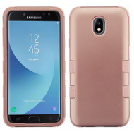 Military Grade Certified TUFF Hybrid Armor Case for Samsung Galaxy J7 (2018) - Rose Gold