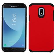 Hybrid Multi-Layer Armor Case for Samsung Galaxy J7 (2018) - Red