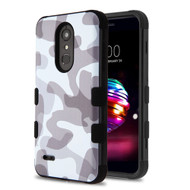 Military Grade Certified TUFF Image Hybrid Armor Case for LG K30 - Camouflage Grey