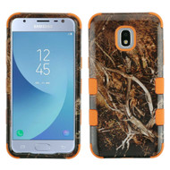 Military Grade Certified TUFF Image Hybrid Armor Case for Samsung Galaxy J3 (2018) - Tree Camouflage