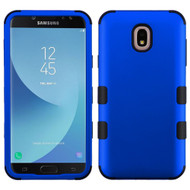 Military Grade Certified TUFF Hybrid Armor Case for Samsung Galaxy J7 (2018) - Blue