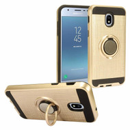 *Sale* Sports Hybrid Armor Case with Smart Loop Ring Holder for Samsung Galaxy J3 (2018) - Gold