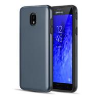 *Sale* Slim Armor Hybrid Case for Samsung Galaxy J7 (2018) - Navy Blue