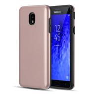 *Sale* Slim Armor Hybrid Case for Samsung Galaxy J7 (2018) - Rose Gold
