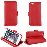 *SALE* Genuine Leather Executive Wallet Case for iPhone 6 / 6S - Red