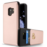 Under Cover Card Slot Case for Samsung Galaxy S9 - Rose Gold