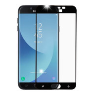 Premium Full Coverage 2.5D Tempered Glass Screen Protector for Samsung Galaxy J7 (2018) - Black