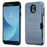 *Sale* ID Card Slot Hybrid Case for Samsung Galaxy J7 (2018) - Ink Blue