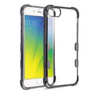 *Sale* TUFF Klarity Electroplating Transparent Anti-Shock TPU Case for iPhone 8 / 7 / 6S / 6 - Gunmetal
