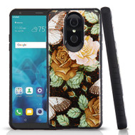 Tough Anti-Shock Triple Layer Hybrid Case for LG Stylo 4 - Lucky Flowers