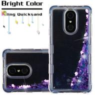 Tuff Lite Quicksand Case for LG Stylo 4 - Purple