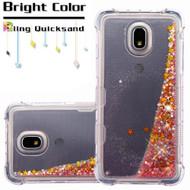 *Sale* Tuff Lite Quicksand Case for Samsung Galaxy J3 (2018) - Pink