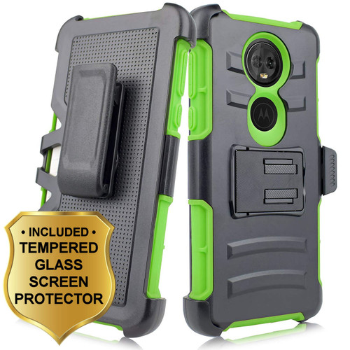 Advanced Armor Hybrid Kickstand Case Holster Tempered